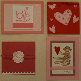 Four SU Valentines