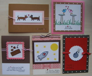 5 cards 1-31-09