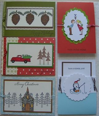 5 Holiday Cards Oct 2009