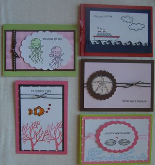 Sea of Love 5 Cards
