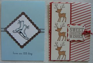 2 Sweet Holiday Greetings