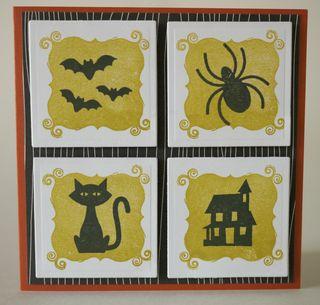Halloween Four Square