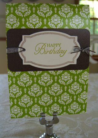 Vintage Die Happy Birthday