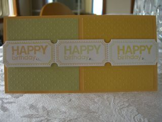 Happy Birthday Tickets