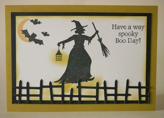 Witch Spooky Boo Day