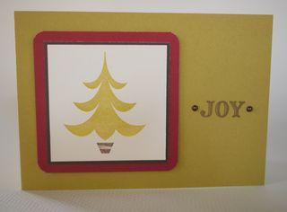 Joy Christmas Tree