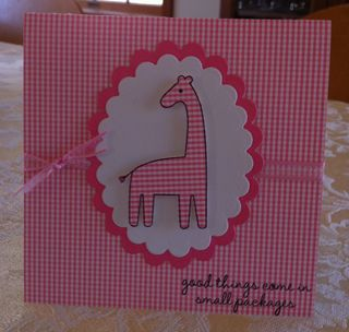 Pink Giraffe Good Things