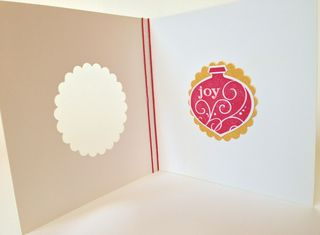 Joy Ornament - Interior