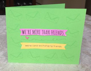 Card-Exchanging Friends