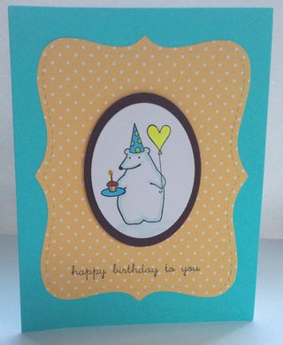 Polar Bear Happy Birthday