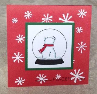 Polar Bear Peaceful Holiday