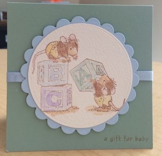 House Mouse A Gift for Baby