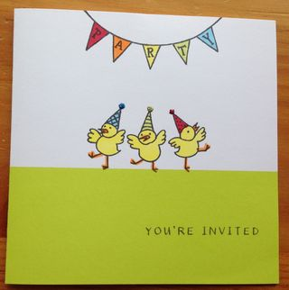 John's Birthday Invitation