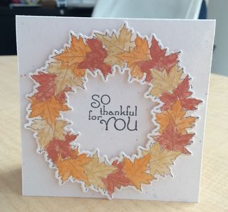 So Thankful for You Wreath